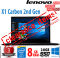 Lenovo X1 Carbon [2nd Gen]  i7-4600U 2.1GHz 8GB 240GB Grade B- minor screen blemish barely visible when in use