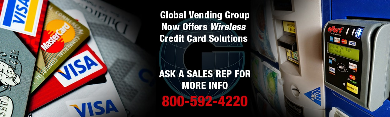 Add a Credit Card Reader to your Vending Machine!
