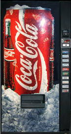 Royal RVMCE 650 Coke Machine - Refurbished