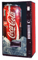 Royal RVMCE 768 Coke Machine - Refurbished