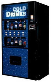Royal Vendors RVDVE 650 Soda Machine-Live Display - New