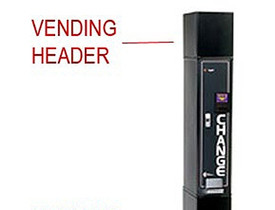 Standard HEADER for MC100 Bill Changer - New