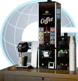 K-Cup Coffee Station From Global Vending Group