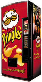 Pringles Snack Machine