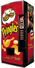 Pringles Snack Machine