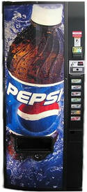 Dixie Narco DN276E Vending Machine - Refurbished