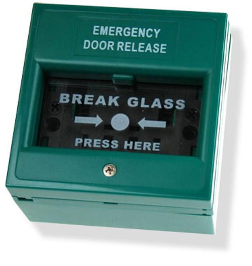 Green Break Glass Unit