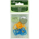 Clover (3151) Stitch Markers Large Traingle (x3)