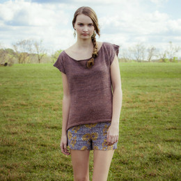 Kelbourne Leaflets Summer Sweater - Hidalgo