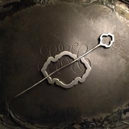 Jul Lace Shawl Pin, Alhambra
