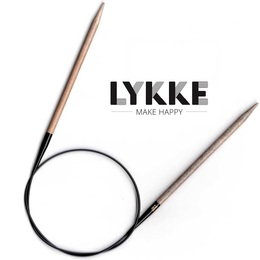 "Lykke Driftwood 40""(100cm) Circs 3.00mm/US2.5"