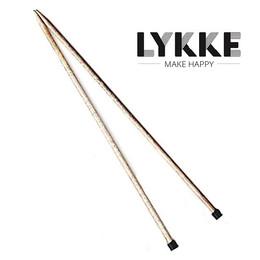 "Lykke Driftwood 14"" Straights 4.00mm/US6"