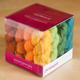 "Sweet Georgia Prismatic ""Essential Colour"" Mini-Mini Skein Set (30st)"