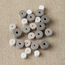 Cocoknits Multi-Size Stitch Stoppers - Neutral