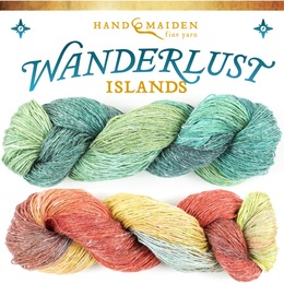 Handmaiden / Fleece Artist Wanderlust Islands - Flyss (26st)