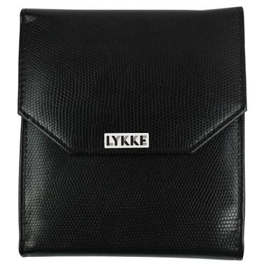 Black faux leather case