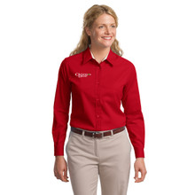 Port Authority® - Ladies Long Sleeve Easy Care Shirt