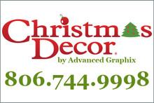 Traditional Christmas Decor Yard Sign