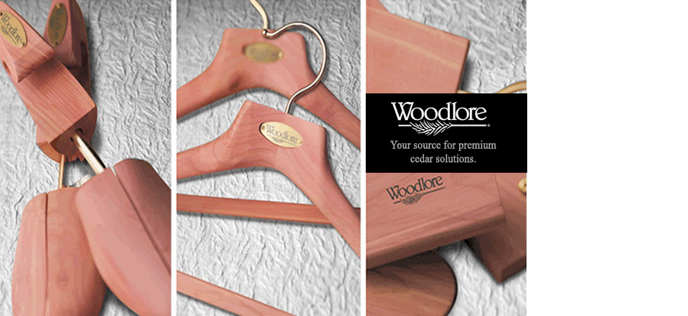 Woddlore Premium Aromatic Cedar Shoe Trees, Hangers, and Closet Accessories