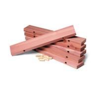 Woodlore Cedar Shoe Rack Extenders