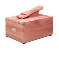 Woodlore Professional-Style Cedar Shoe Valet