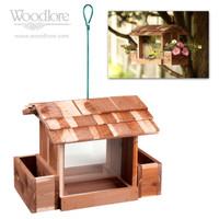 Cedar Bird Feeder (with planter boxes)