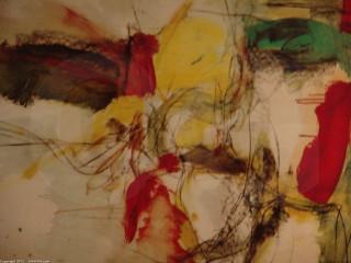 "Grigg - Original - oil on paper  - 22inx32in - ""White Vigil"""