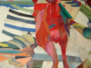 "Calvin Grigg - Original - ""Apparition"" - Oil on Canvas- 50inx72in"