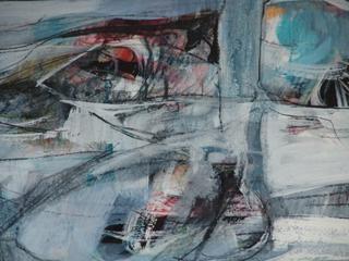"Original Art - Calvin Grigg - ""The Echo"" - Closeup"