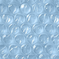 "Single Roll 1/2"" x 24"" x 250' Large Bubble Wrap"