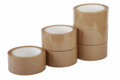 "Single Roll Packing Tape 2"" x 2.0 Mil Tan"