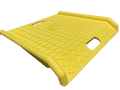 "Plastic Curb Ramp 27"" x 27"" (Yellow)"