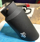 MIT Powder Coatings - Black Wrinkle PESSP-450-M0 - Photo Submitted by Kris Parsons