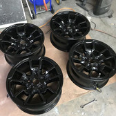 MIT Powder Coatings - Semi Gloss Black Powder Coating PESB-500-SG6 -  Photo Submitted by Powdered Remedies