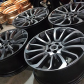 MIT Powder Coatings - Low Gloss Black PESB-500-LG3 - Photo submitted by Sharp Customs