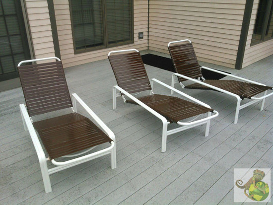 MIT Powder Coatings - Sky White PESW-500-G0 - Lawn Chairs - Photo submitted by Khameleon Koatings