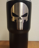 MIT Powder Coatings - Black Texture PESB-410-M0 - Rtic Cup - Photo Submitted by GDS Metal Worx