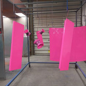 MIT Powder Coatings - Neon Pink PESP-670-G9 - Photo Submitted by Short Iron Fab