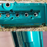 MIT Powder Coatings - Candy Teal PESB-680-G9 - Photo submitted by BJ's Powder House