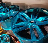 MIT Powder Coatings - Candy Teal PESB-680-G9 - Photo submitted by Sharp Creations