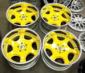 MIT Powder Coatings - Safety Yellow PESY-400-G9 - Photo submitted by MF Powder Coating