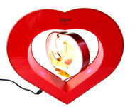 Heart-shaped Floating Photo Frame with Lights