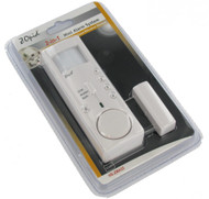 2-in-1 Mini Alarm System -Motion Detector -Door/Window Contact Sensor