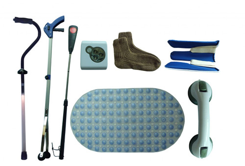 Nine (9) Products in Fall Prevention Kit