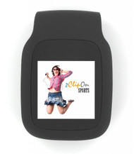 zClipOn-Sports MP3 Player 1.5 inch color display with G-Sensor