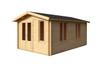 Alexandra 44 - 3.0m x 4.8m - 44mm Log Cabin - Under 2.5m