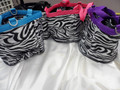 ZEBRA Grooming Tote by Partrade! ZEBRA COLORS! FREE SHIP!