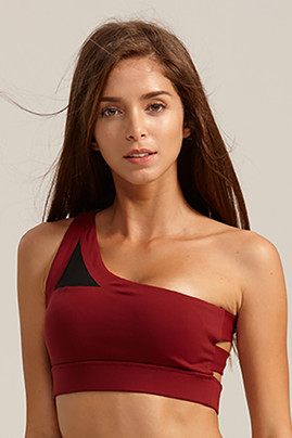 Stage Sports Bra - Maroon