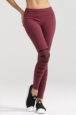Attitude Legging - Wine