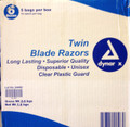 Dual Blade Razors 50 pack